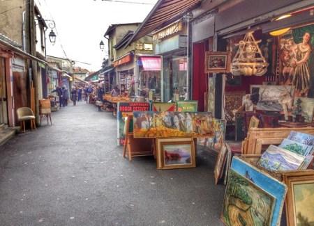mercato delle pulci parigi