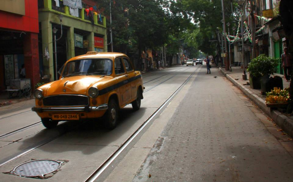 yellow taxi is quintessential Kolkata