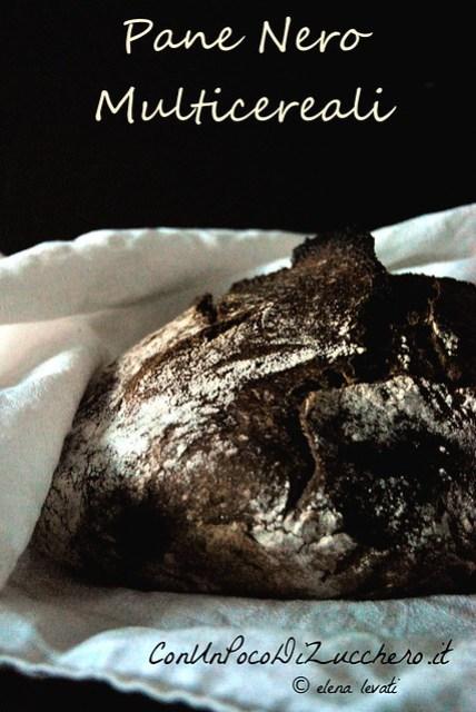 Pane Nero multicereali - Multigrain bread