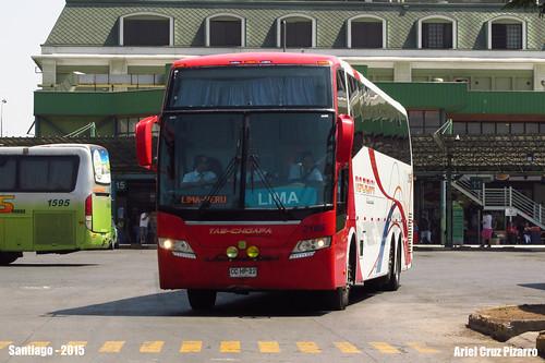 Tas Choapa Internacional - Santiago de Chile - Busscar Vissta Buss Elegance 380 / Mercedes Benz (CCHP22) Nº 2165