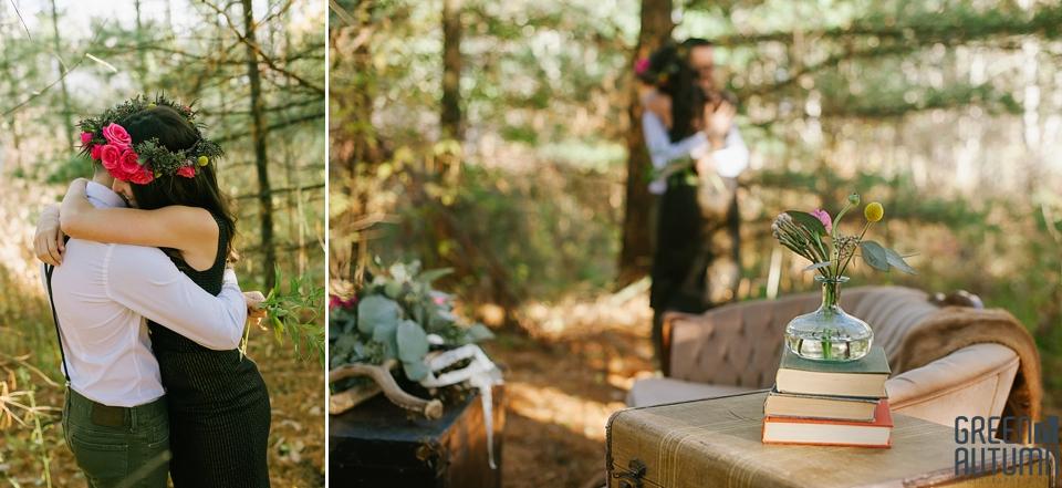Wedding Creative Inspiration Hamilton Woodland engagement Photography 0005