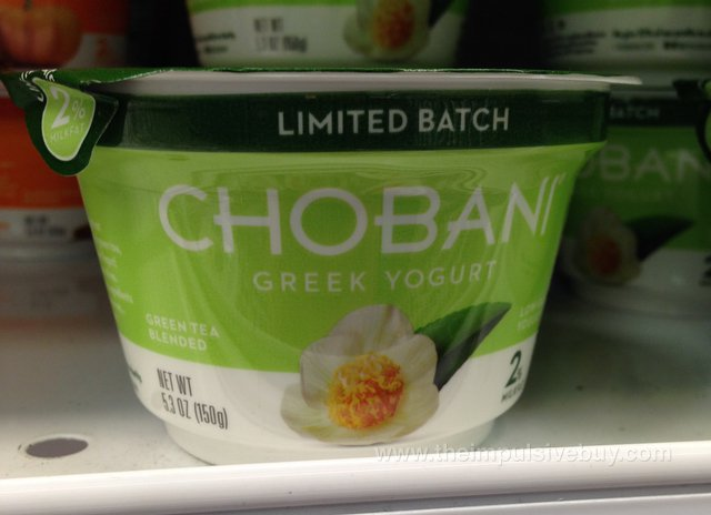 Chobani Limited Batch Green Tea Greek Yogurt