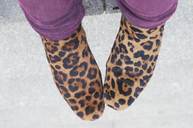 botines de leopardo zara
