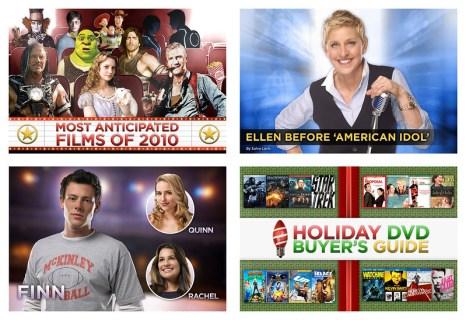 Yahoo! Movies + TV Titlecards