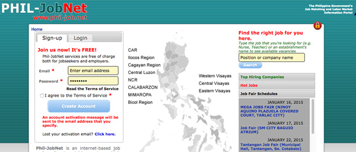 Job Search Websites in the Philippines - Phil-jobnet