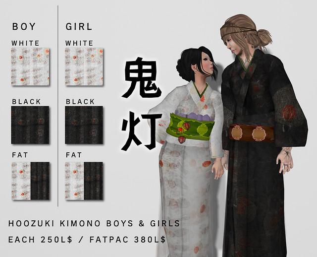 *N*HOOZUKI_KIMONO BOY & GIRL