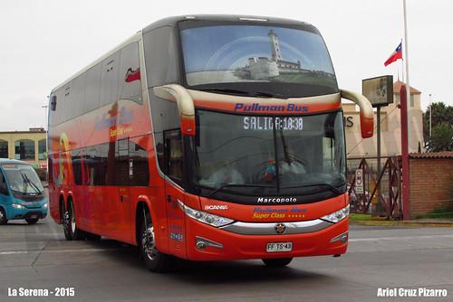 Pullman Bus - La Serena (Chile) - Marcopolo Paradiso 1800 DD G7 / Scania (FFTS43)