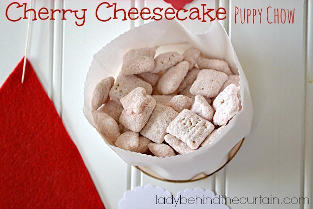 Valentines Day Puppy Chow