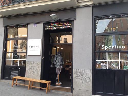 Sportivo, Barrio Conde Duque. Madrid