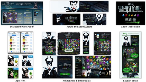 MALEFICENT FREE FALL Assets