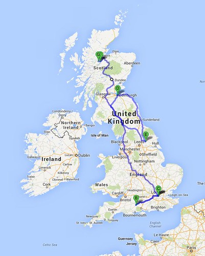 Route Map UK