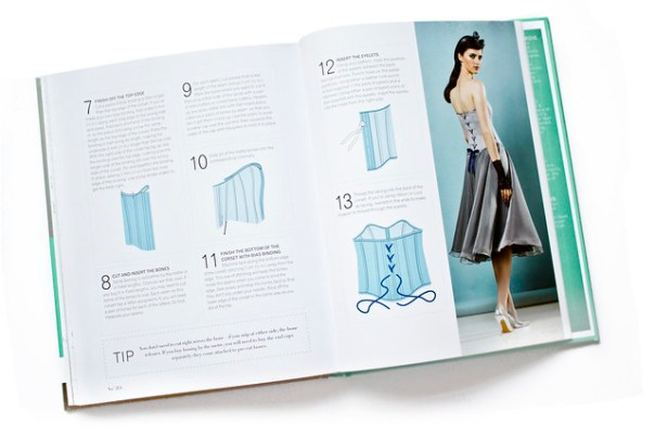 Corsetry and Boning in The Great British Sewing Bee Fashion With Fabric book