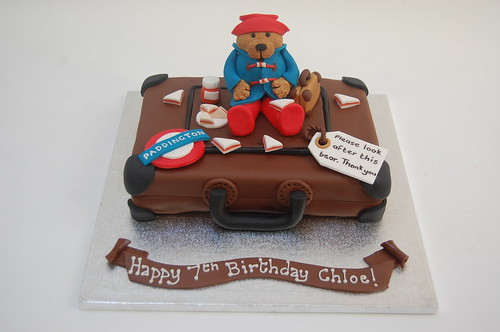 Paddington Cake Topper