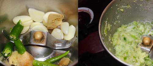 Peas Pulao step1