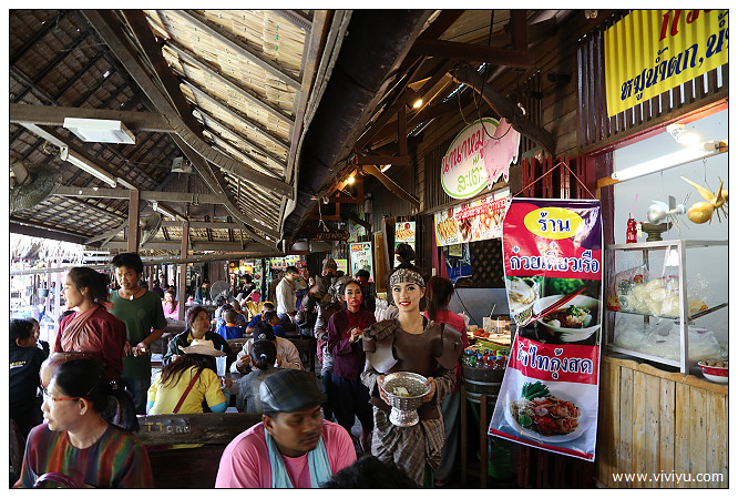 [2014曼谷]大城水上市場ayutthaya floatingmarket~好逛好吃 @VIVIYU小世界
