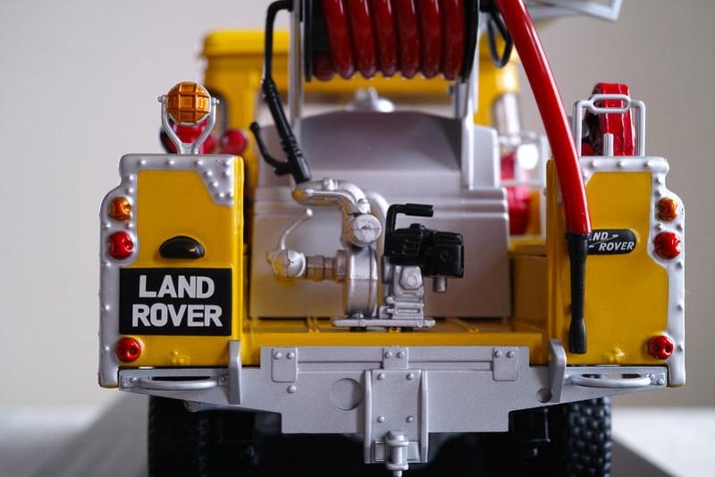 Land Rover Series2 Fire truck