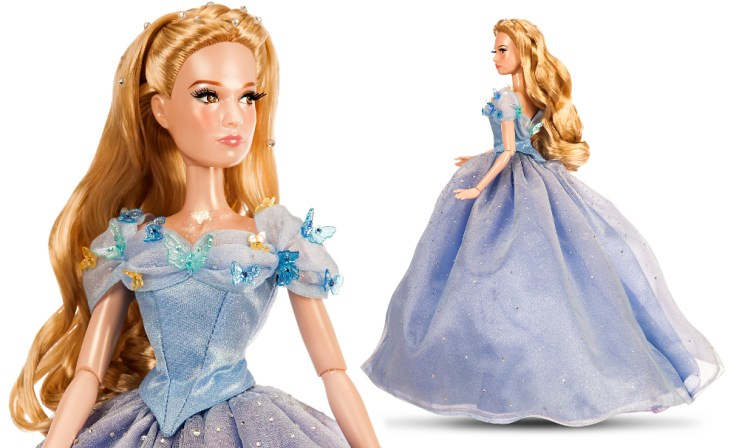 Blue Cinderella limited edition doll