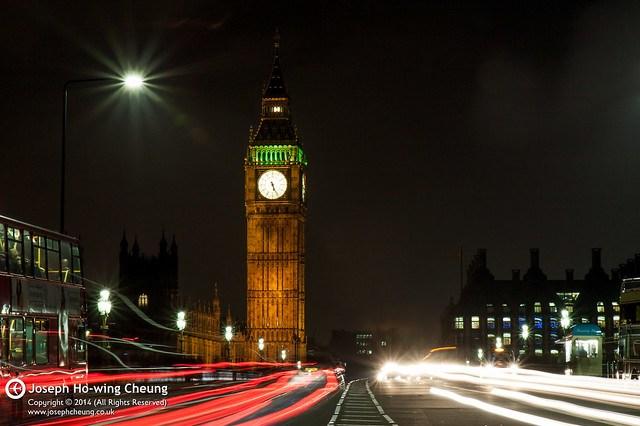 Elizabeth Tower, Westminster Bridge