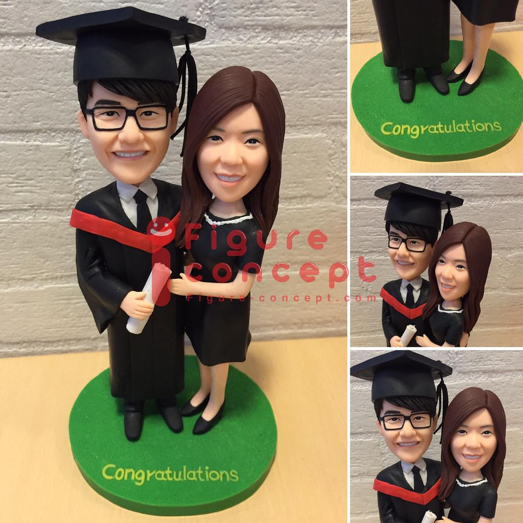 畢業公仔Figurine | 雙人公仔度身訂做 | FIGURE CONCEPT | Flickr