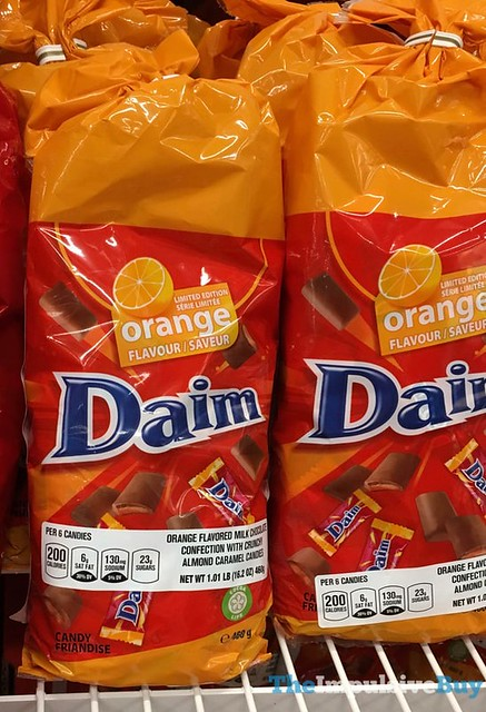 Limited Edition Orange Daim Bars