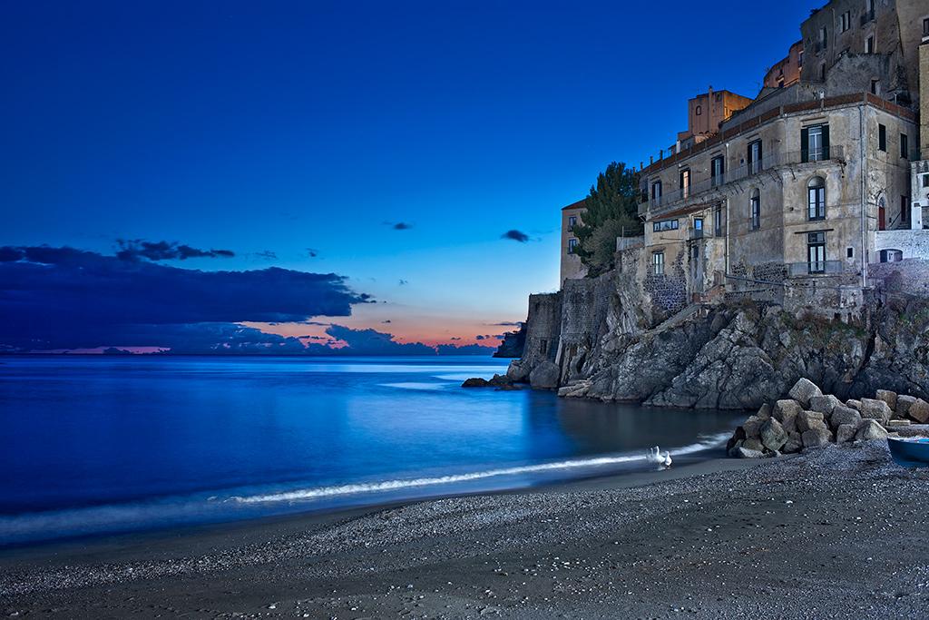 Elevation of Salerno Province of Salerno Italy
