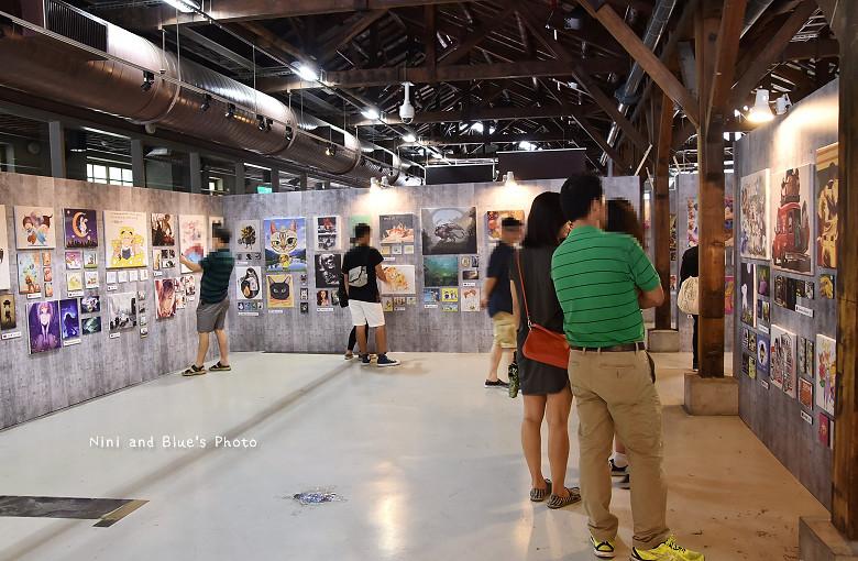 台中後火車站舊酒廠王畫創意園區2016插畫展10