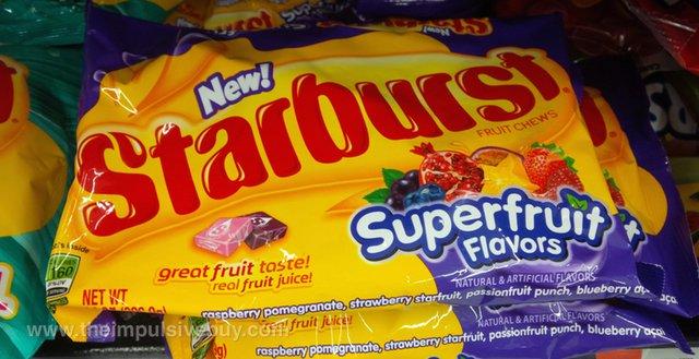Starburst Superfruit Flavors