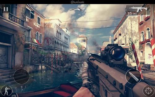 เกม Modern Combat 5: Blackout บน Samsung Galaxy Note Edge