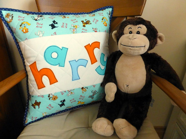 Commission cushion baby boy