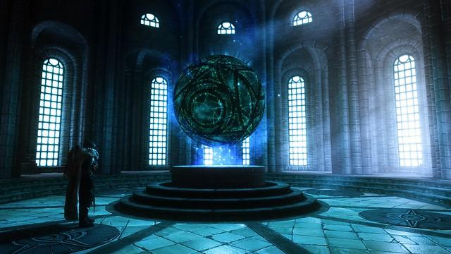 Torac Studies the Eye of Magnus