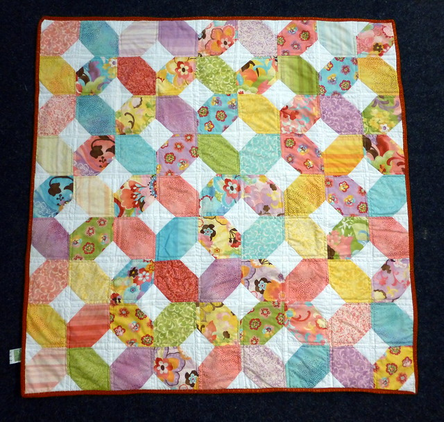 Bee Blessed baby quilt