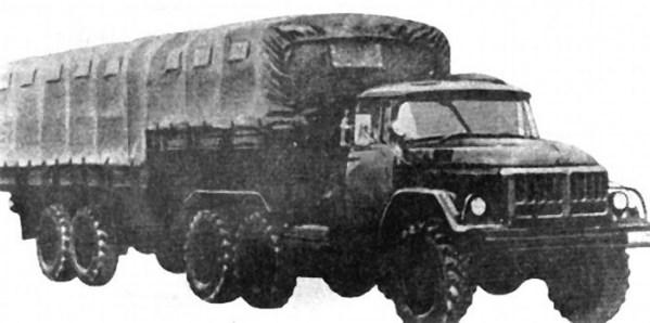 ЗиЛ-137 долгое время состоял на службе у Советской армии