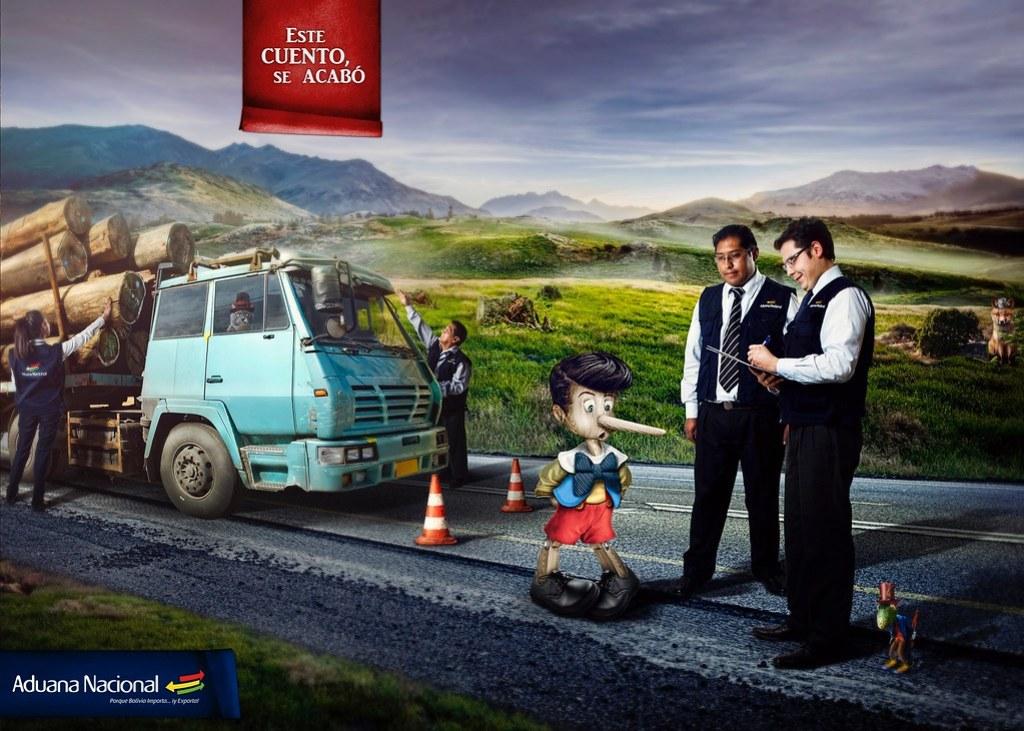 Aduana Nacional de Bolivia - This story ends here Pinnochio