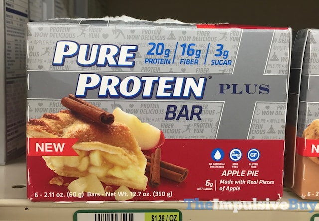 Pure Protein Apple Pie Plus Bar