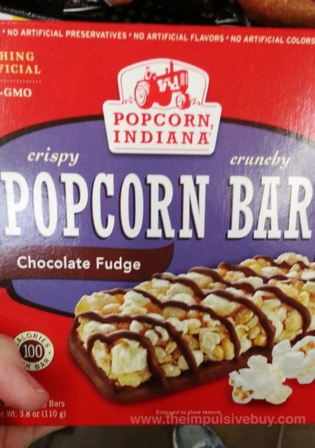 Popcorn Indiana Chocolate Fudge Popcorn Bar