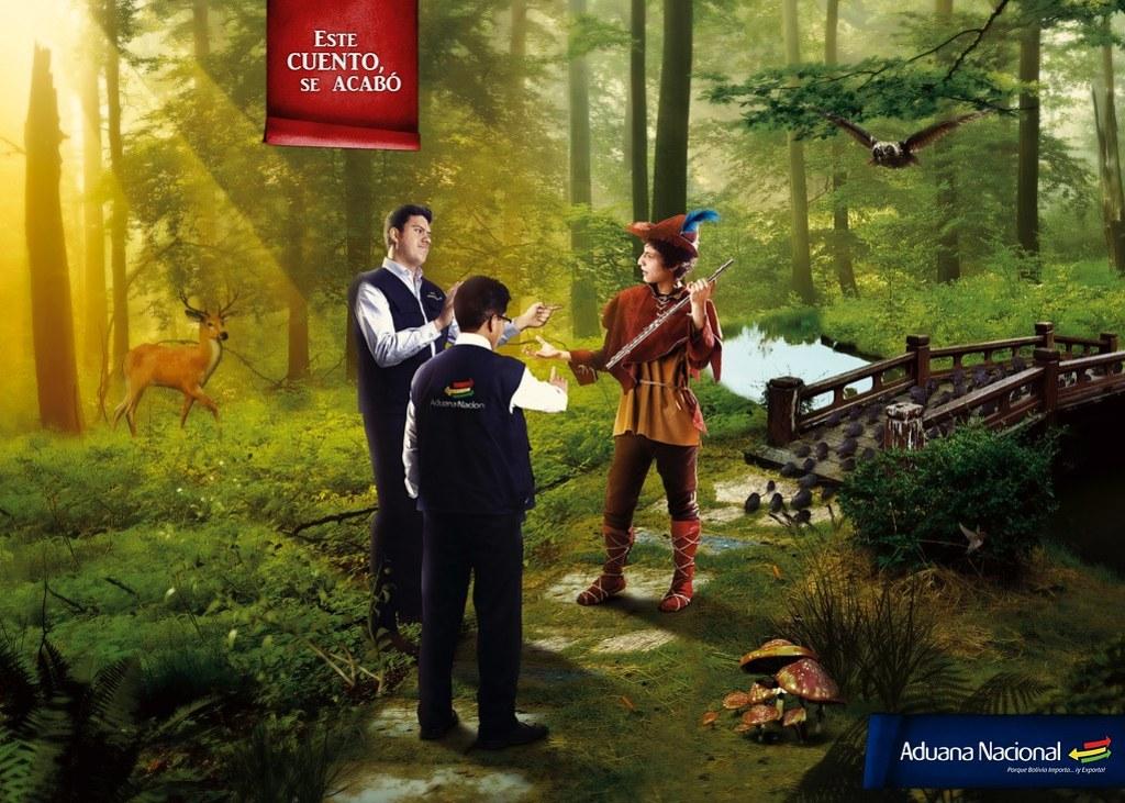 Aduana Nacional de Bolivia - This story ends here Robin Hood