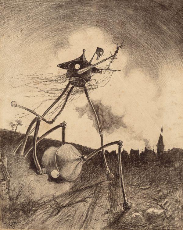 Monster Brains Henrique Alvim Correa - War Of Worlds
