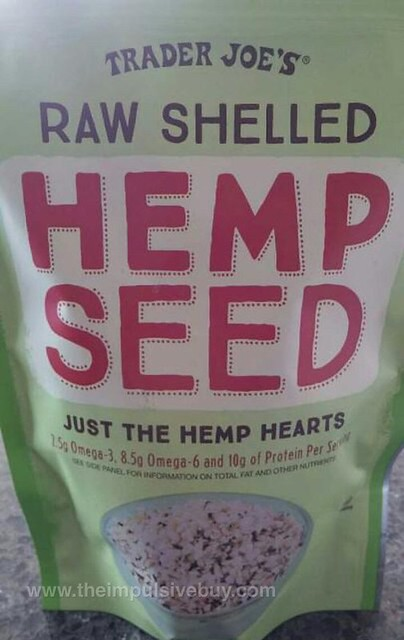 Trader Joe's Raw Shelled Hemp Seed