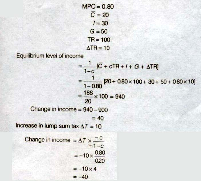 NCERT Solutions for Class 12th Macroeconomics : Chapter 5