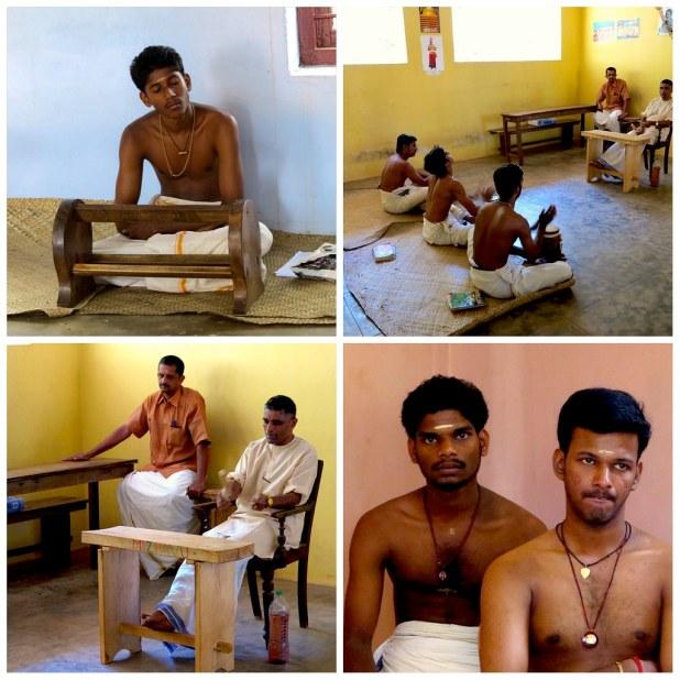 Escuela de Kathakali en Kerala