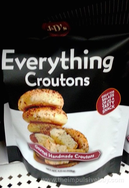 J&D's Foods Everything Croutons