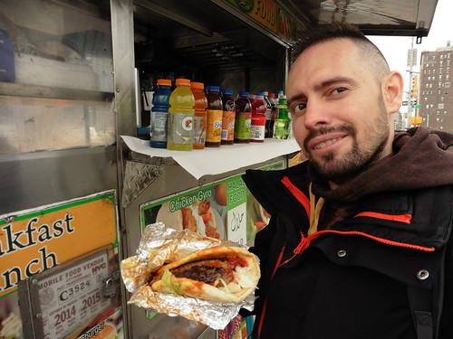 Dónde comer y gastronomía en Nueva York: Hot Dogs en Puestos Callejeros.