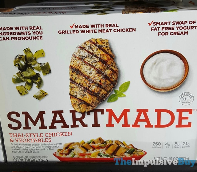 Smart Made Thai-Style Chicken & Vegetables