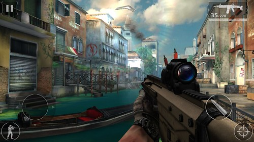 เกม Modern Combat 5: Blackout บน Acer Iconia Talk S