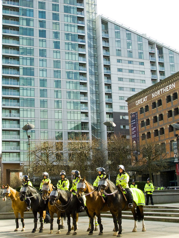 EDL March in Manchester