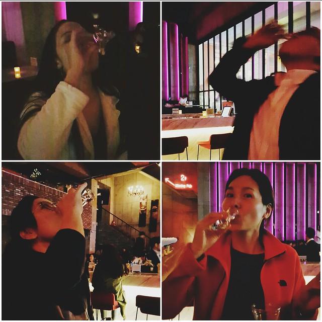 daegu // hot gossip vodka shots