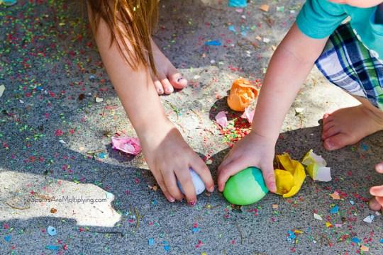 DIY Confetti Eggs