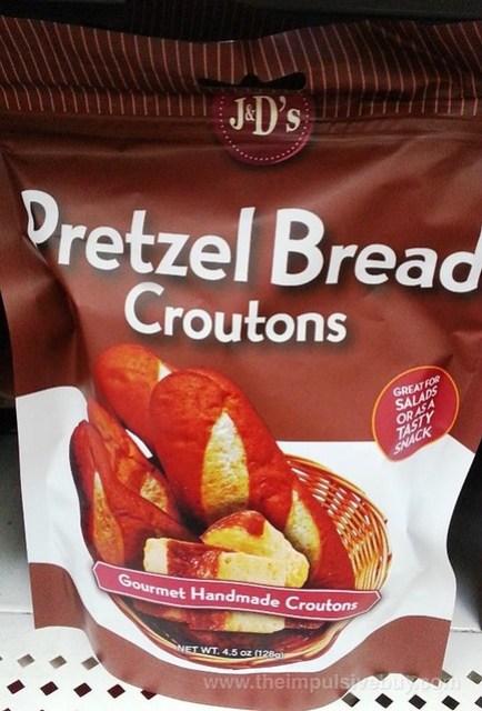J&D's Foods Pretzel Bread Croutons