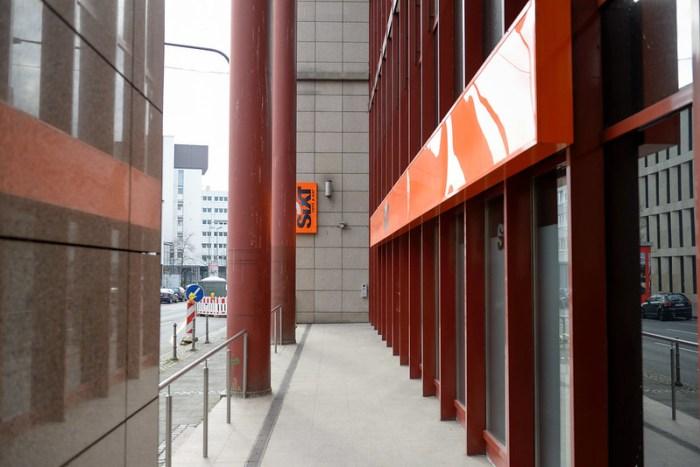 市中心的 Sixt 辦公室