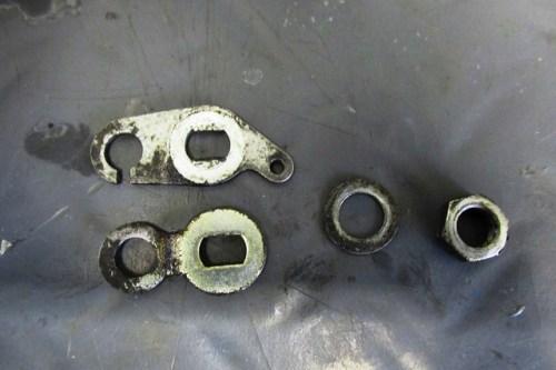 Choke Lever Assembly-Top Ouside, Bottom Inside Lever